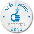 Az Év Honlapja 2013 - Közönségdíj