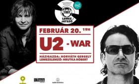 B32 Galéria és Kultúrtér - Lemezjátszó - U2:War//Hrutka Róbert