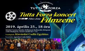 Kőrösi Csoma Sándor Kőbányai Kulturális Központ - Tutta Forza koncert - Filmzenék