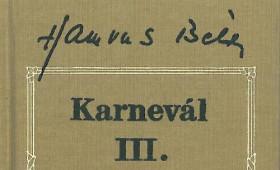 Fészek Művészklub - Karneválkodók olvasókör Nyitrai Tamás Hamvas-kutató előadássorozata