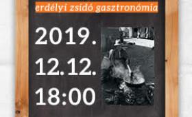 Csányi5 - Ízek és emlékezet - erdélyi zsidó gasztronómia