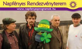Napfényes Étterem és Rendezvényterem - Szent Patrik-napi koncert a M.É.Z. Együtessel