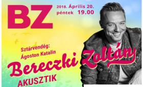 Kőrösi Csoma Sándor Kőbányai Kulturális Központ - Bereczki Zoltán akusztikus műsora