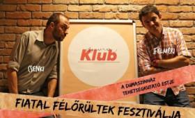 Dumaszínház - Fiatal Félőrültek Fesztiválja, műsorvezető: Csenki Attila